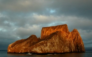 Kicker Rock, an iconic Galapagos landmark just a short boat ride from the hotel